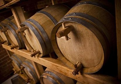 casks of beer